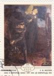 Stamps : Europe : Russia :  PINTURA-CARBONERO Y LENIN