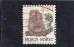 de Europa - Noruega -  ARDILLA