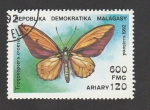 Stamps Europe - Macedonia -  %Troconoptera croesus