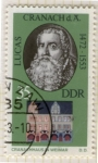 Stamps : Europe : Germany :  1553 - Lucas Cranach, pintor