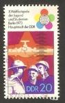 Stamps Germany -  1557 - X Festival mundial de las juventudes y los estudiantes