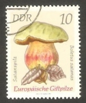 Stamps : Europe : Germany :  1614 - Champiñón boletus satanas