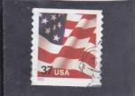 Stamps : America : United_States :  BANDERA ESTADOUNIDENSE