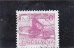 Stamps : Europe : Yugoslavia :  CARTERO