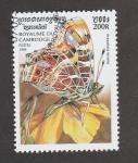 Stamps Asia - Cambodia -  Araschinia levana