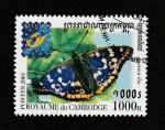 Stamps Asia - Cambodia -  Apatura ilia