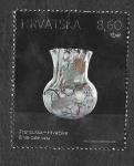 Stamps : Europe : Croatia :  Jarrón de Vidrio