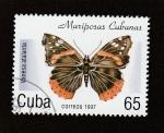 Stamps : America : Cuba :  Vanessa atalanta