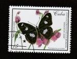 Stamps : America : Cuba :  Pantaporia spp.