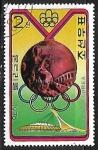 Stamps Asia - North Korea -  Juegos Olímpicos - Medallas - Hockey, Pakistan