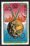 Stamps Asia - North Korea -  Juegos Olímpicos - Medallas