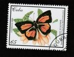 Stamps : America : Cuba :  Curetis acuta
