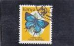 Stamps : Africa : Kenya :  MARIPOSA
