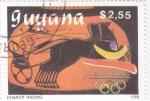 Sellos del Mundo : America : Guyana : OLIMPIADA BARCLONA'92