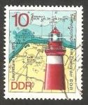 Stamps Europe - Germany -  1634 - Faro de Buk