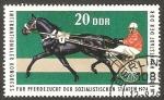 Sellos de Europa - Alemania -  1652 - Caballo trotón
