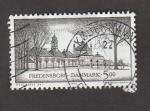 Stamps Denmark -  Palacio de Fredensborg