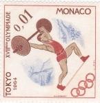 Stamps : Europe : Monaco :  OLIMPIADA TOKYO