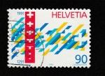Stamps Switzerland -  Pacto de los 3 cantones