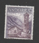Stamps Andorra -  Santa Coloma