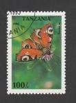 Sellos de Africa - Tanzania -  Inachis spp.