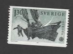 Stamps Sweden -  Telecomunicaciones