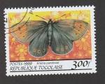 Stamps Togo -  Erebia pandros