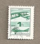Sellos de Europa - Hungría -  Avión Lloyd CII