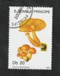 Stamps : Africa : São_Tomé_and_Príncipe :  990 - Champiñón, Pholiota spectabilis