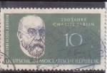 Stamps Germany -  250 aniversario ROBERT KOCH-medico