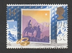 Stamps United Kingdom -  Huida a Egipto