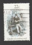 Stamps Australia -  Calidad de material de lavado