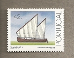 Stamps Portugal -  Traineras