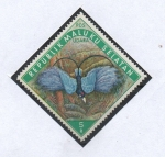 Stamps Indonesia -  AVES.  ISLAS MOLUCAS.