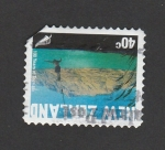 Stamps New Zealand -  Años de turismo