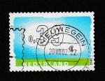 Sellos de Europa - Holanda -  Cifras