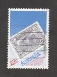 Stamps Australia -  50 Aniv. del 1er. correoo Australia-UK