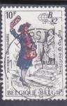 sellos de Europa - Bélgica -  DIA DEL TIMBRE