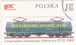 Stamps : Europe : Poland :  LOCOMOTORA ELÉCTRICA