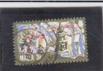 Stamps : Europe : Malta :  OBREROS