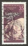 Stamps Germany -  1882 - Curiosidad de la naturaleza, talud rocoso