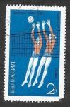 Sellos de Europa - Bulgaria -  1890 - Voleibol