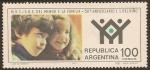 Sellos de America - Argentina -  50°Aniversario I. I. del Niño