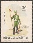 Sellos de America - Argentina -  Día del Ejercito
