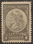 Stamps America - Argentina -  Sello Oficial