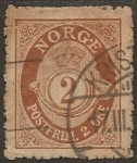 Stamps Europe - Norway -  Mayor Coronado 2 Øre