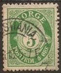 Stamps Europe - Norway -  Mayor Coronado 5 Øre
