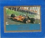 Stamps United Arab Emirates -  Autos de Competicion