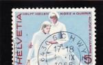 Stamps Switzerland -  AYUDA PARA CURAR