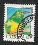 Stamps : Africa : Uganda :  915 - Ave